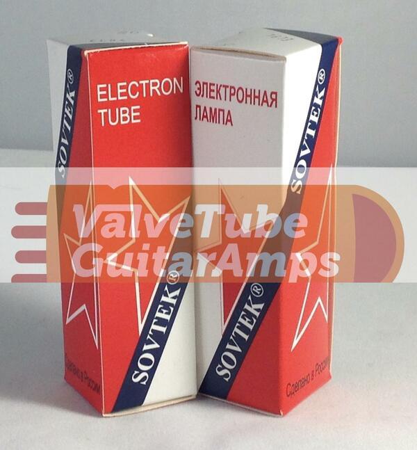 Sovtek EL84 Matched Quad
