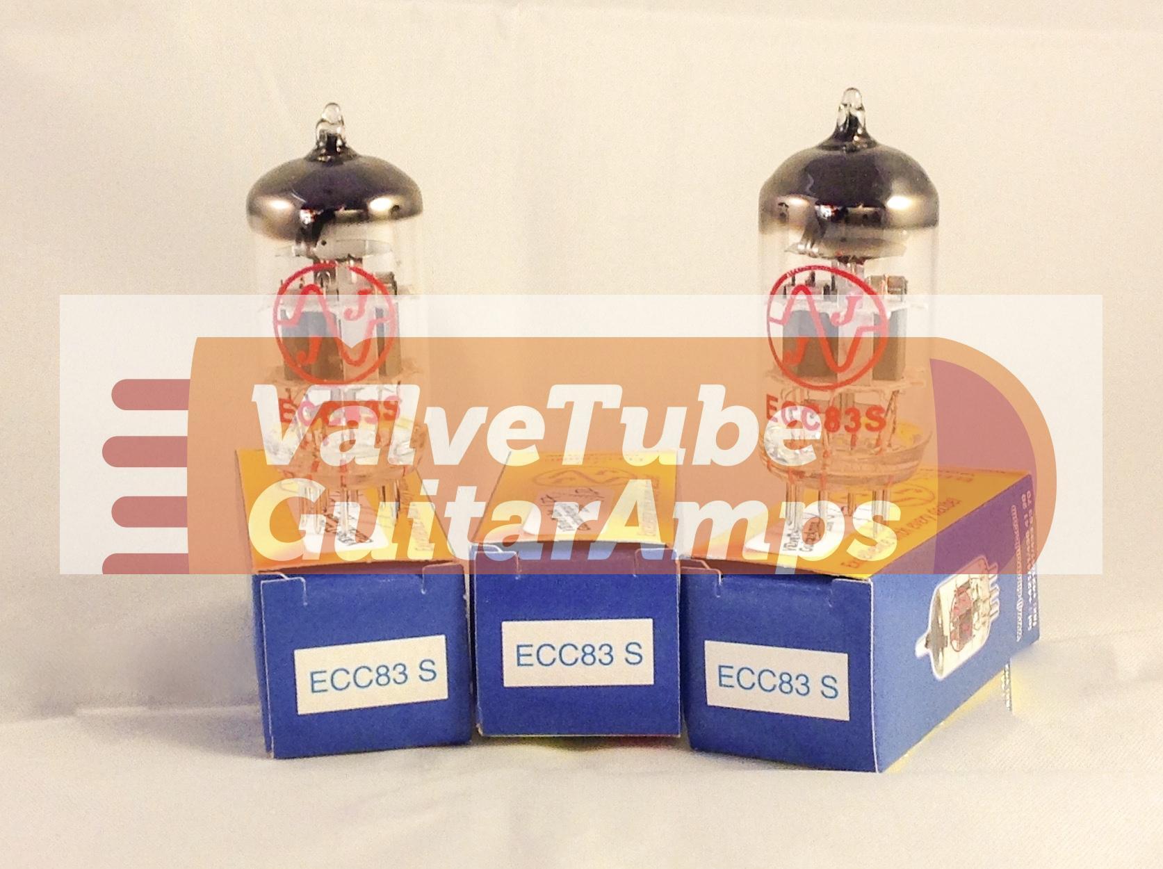 JJ ECC83S value three pack