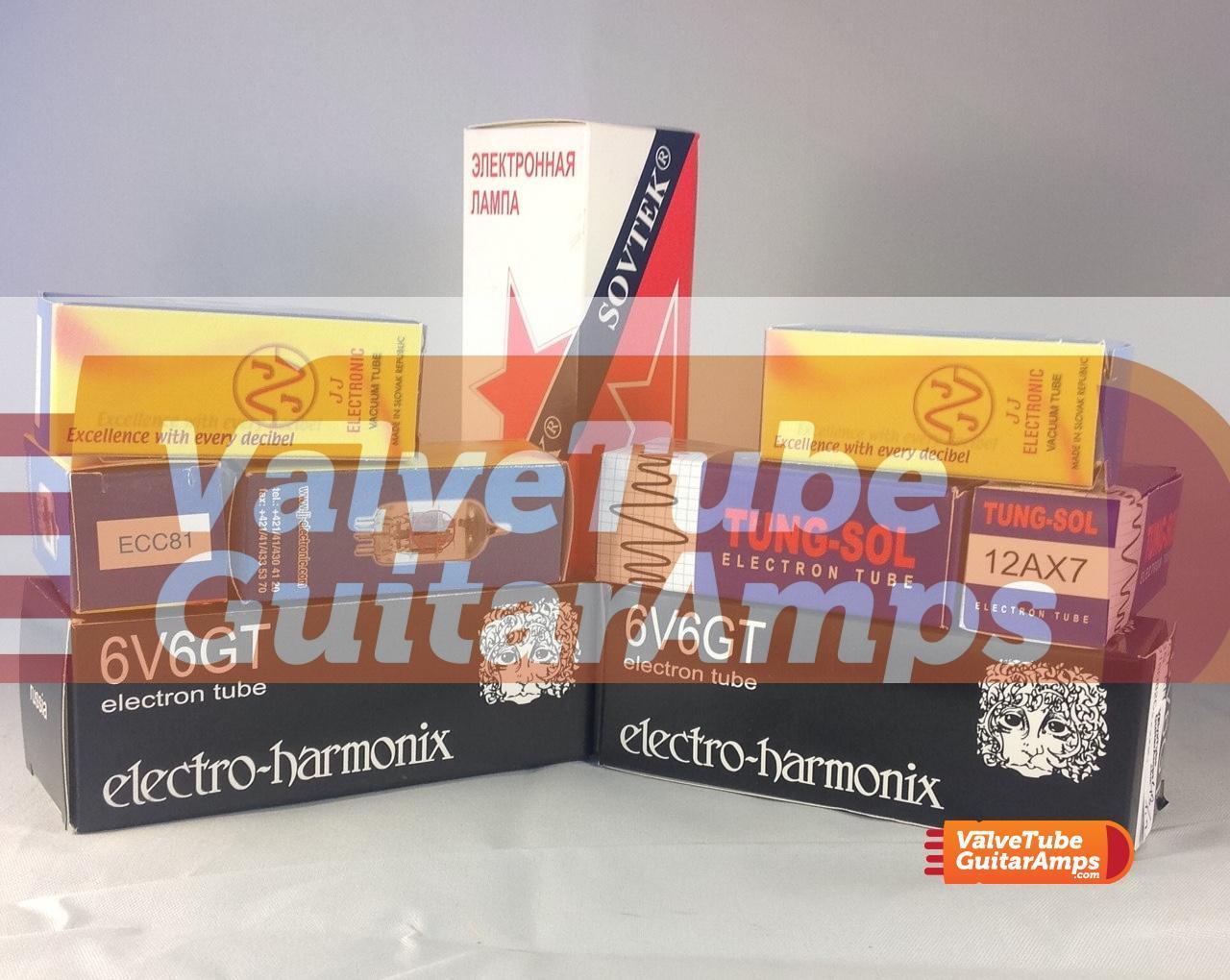 Fender 65 Deluxe Reverb Bespoke Valve Kit