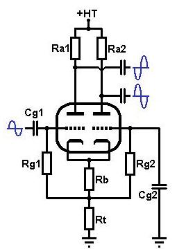 Typical Phase Splitter Schematic