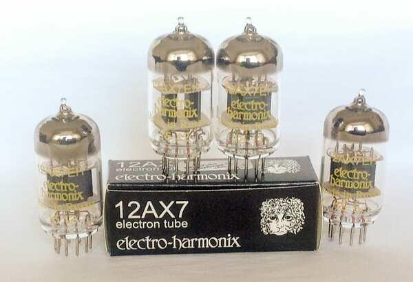 EHX 12AX7 Four Pack