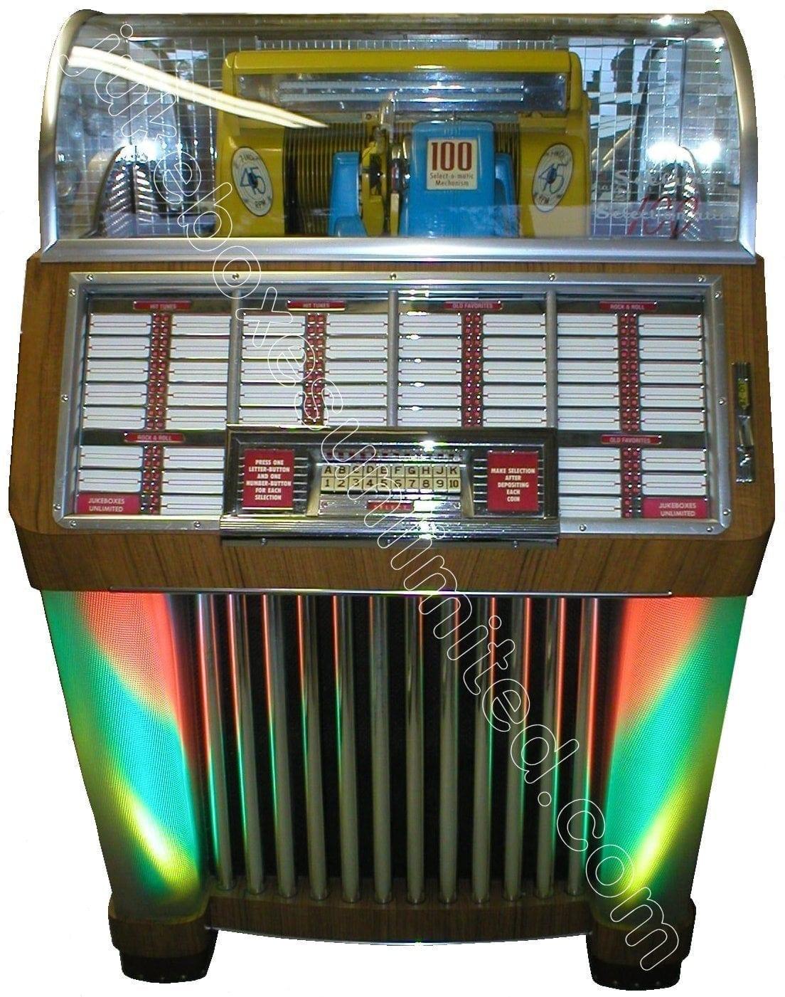 valves for jukeboxes