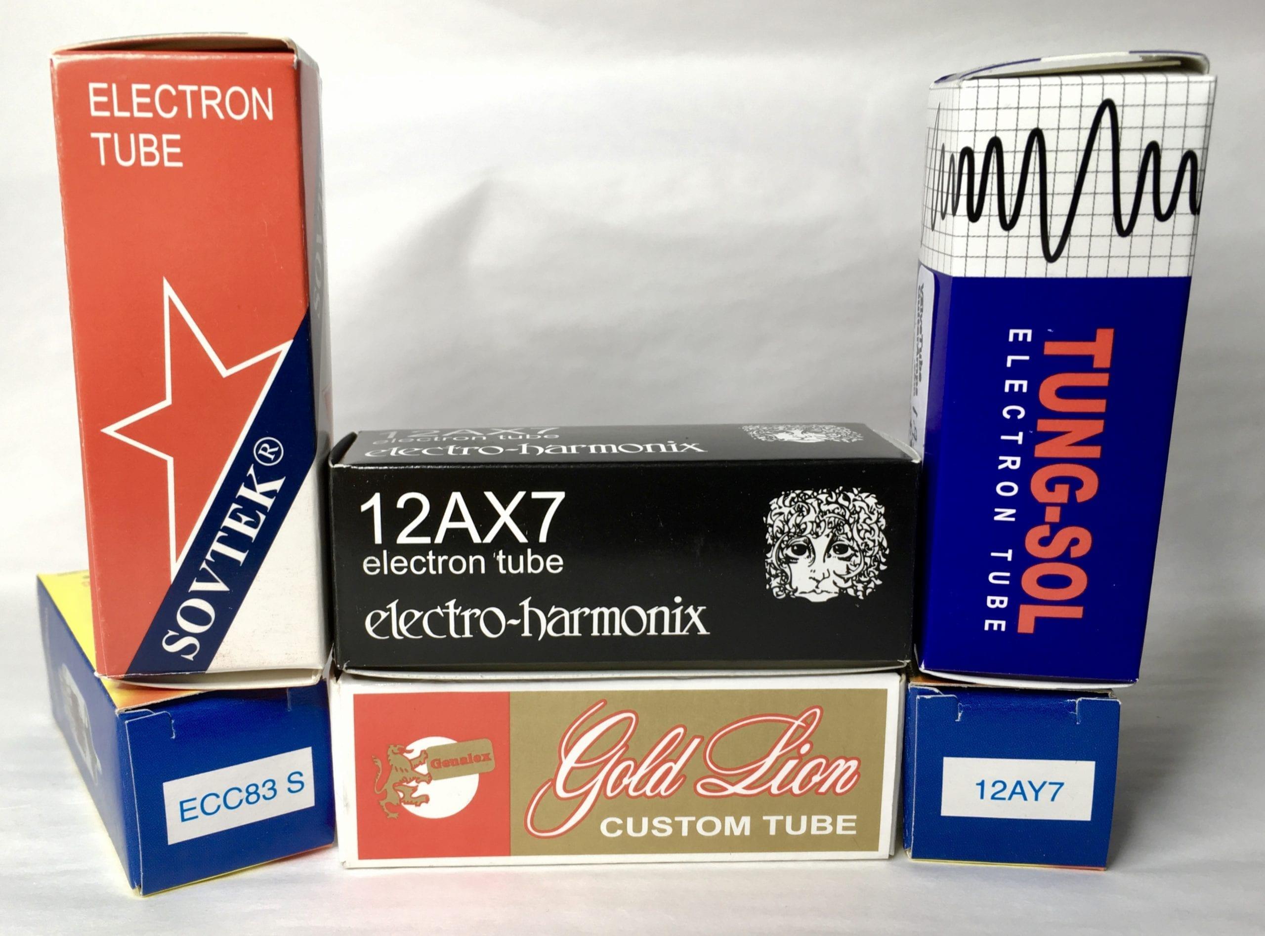 Sovtek Tung Sol Electro Harmonix Genalex JJ Electronic valves