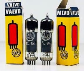 Valvo EL84 Pair