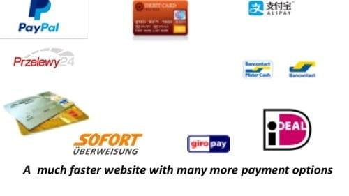 Website Updated Payment options valvetubeguitaramps.com