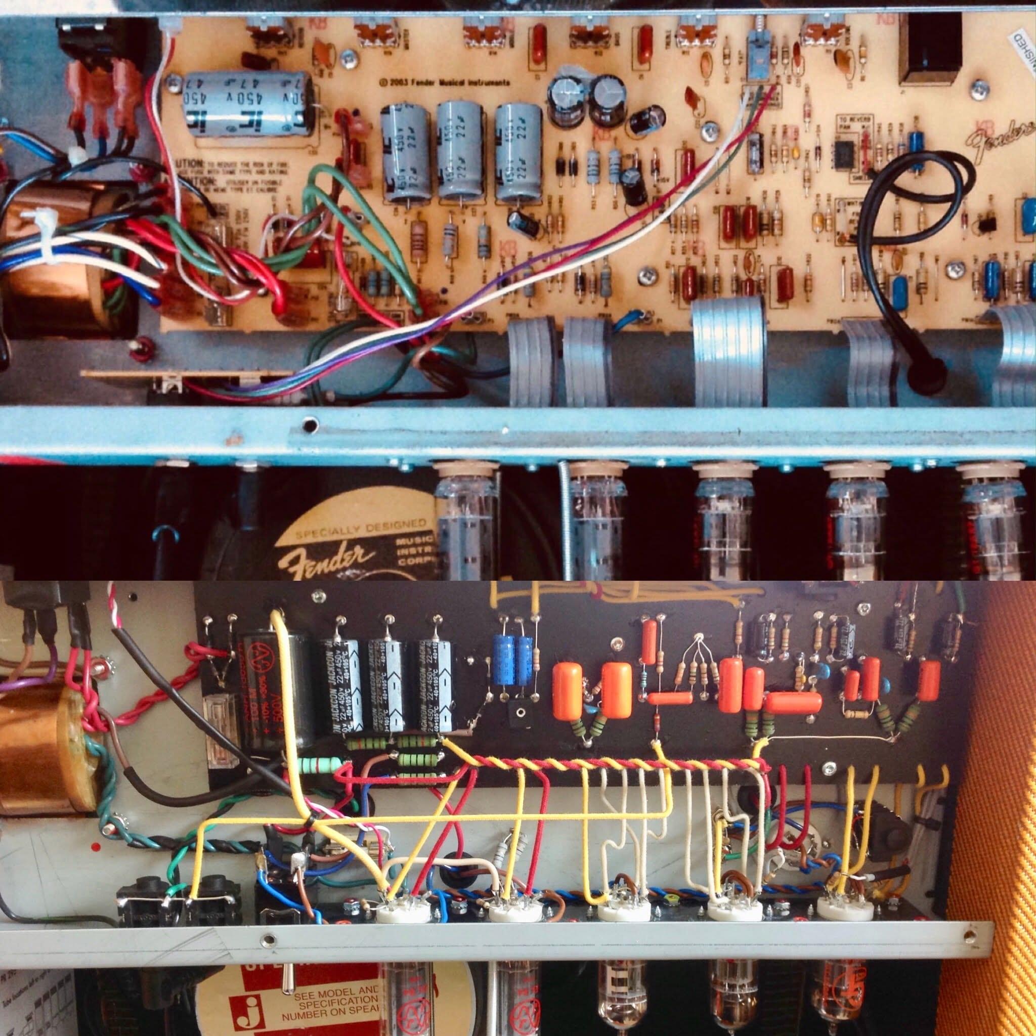 fender Blues Jr standard vs Hardwired image