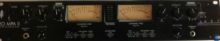 ART PRO MPA II Tube Microphone Amplifier image
