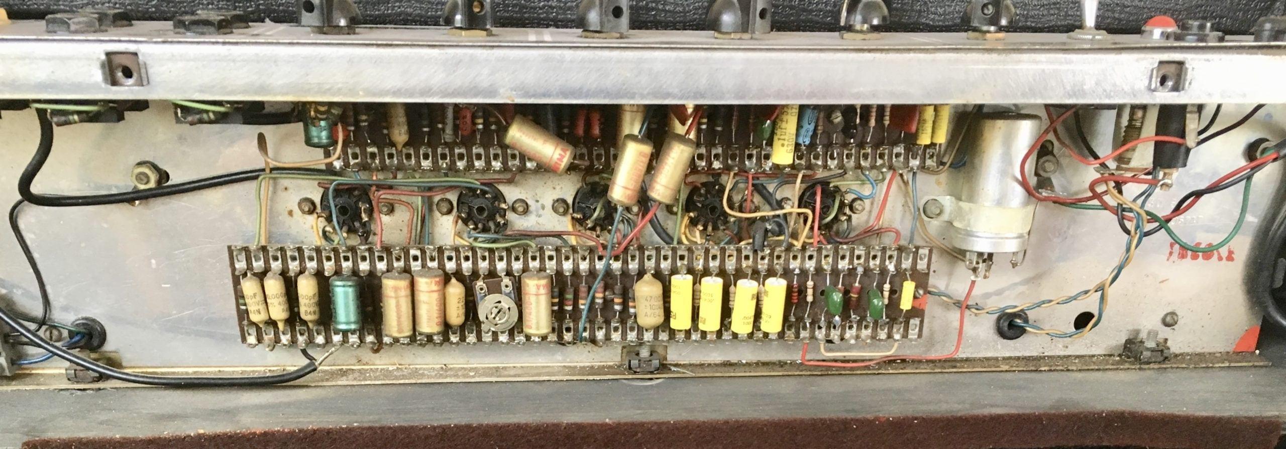 Vox AC30/6 1964 Interior image