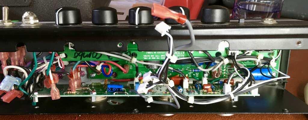 Fender Bassbreaker 007 Chassis inside image