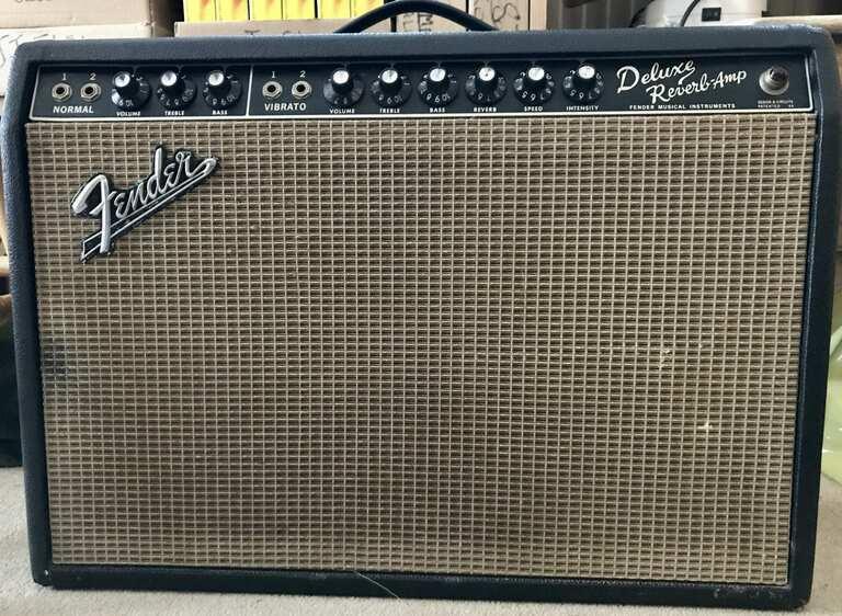 Fender Blackface Deluxe Reverb 1966